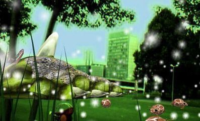 The Local - Giant green worm stalks city park in augmented reality experiment | AR trends in education | Scoop.it