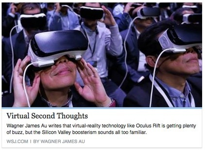 #VirtualReality bubble popping begins - VR Hype: My Opinion Piece in Today's Wall Street Journal | Transmedia Storytelling meets Tourism | Scoop.it
