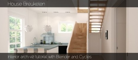 Tutorial: Interior arch-viz with Blender and Cycles | 3d modeling with blender 3D | Scoop.it