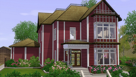 Halliwell Manor (Charmed) << Mod The Sims | Halliwell manor | Scoop.it