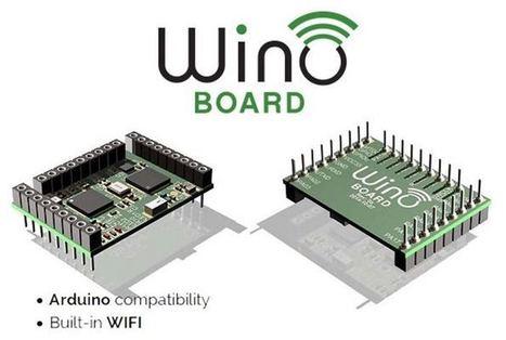 Wino Board €10 Arduino Wireless Stackable Header   Raspberry Pi   Scoop.it