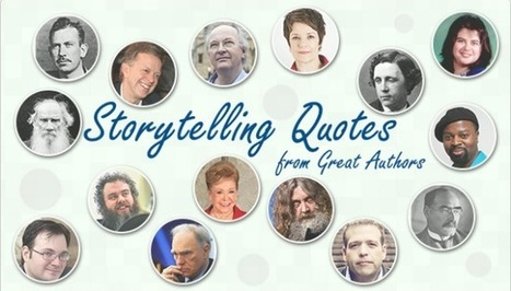Infographic: Storytelling Quotes from Great Authors | Just Story It! Biz Storytelling | Scoop.it