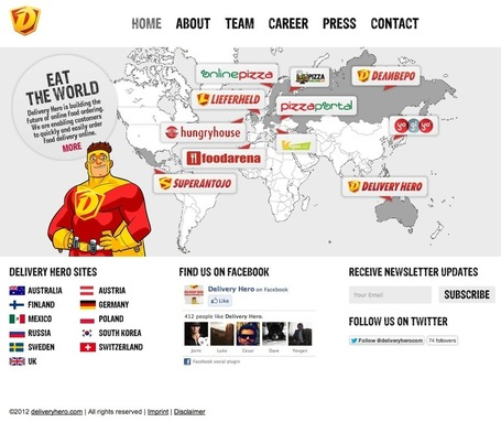 Delivery Hero Raises $50 Million In Series D | Susan's Social Media News | Scoop.it