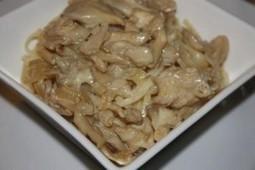 Recette de Tagliatelles au Maitaké (grifola frondosa, polypore en touffes) | Dossier champignons comestibles