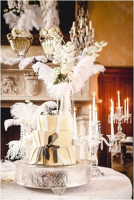 Great Gatsby Wedding Inspiration at Chateau Challain | French Wedding Inspiration | Scoop.it