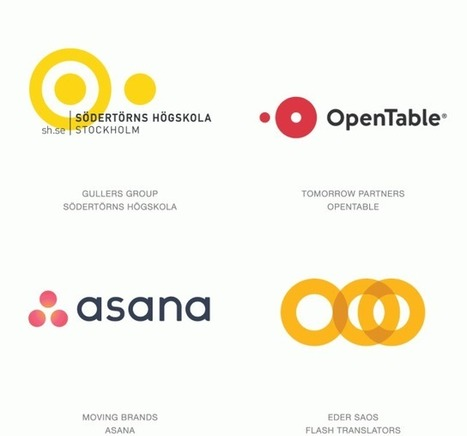 2016 Top Best Logo Designs + Trends & Inspirational Showcase  | El Mundo del Diseño Gráfico | Scoop.it