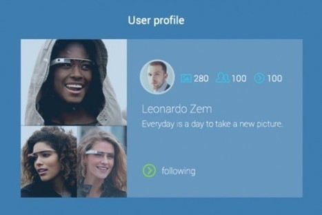 Instagram For Google Glass Concept Brings The Social Media Obsession To Wearable Tech | Digital Marketing | Scoop.it