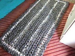 Giant Plarn Rug by Crochet is the Way - Crochet Pattern Bonanza | Free Crochet Patterns | Scoop.it