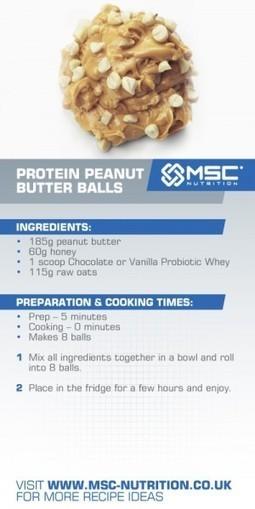 Protein peanut butter balls - MSC Nutrition | Healthy Easter Treats | Scoop.it