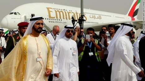 Dubai Airshow: 'Gulf Three' deals will strike fear into rival airlines | The Internal Consultant - Airlines & Aviation | Scoop.it
