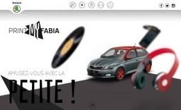 La marque automobile Skoda propose d'imprimer sa voiture Fabia miniature en 3D : Veille du Brand Content | Influence | Scoop.it