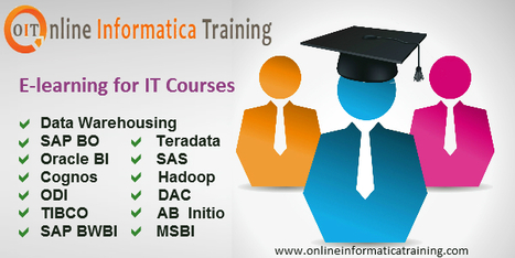 Online Training for all IT courses under the Skilled Trainers | Build your bright career with online training by online informatica training institute | Scoop.it