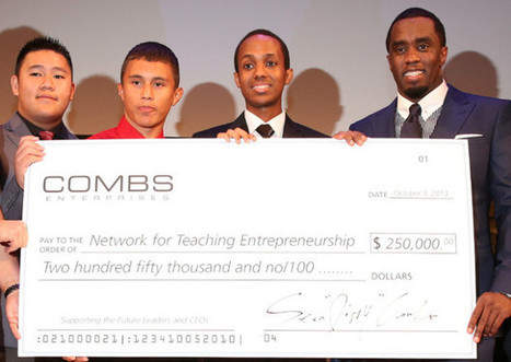 Diddy Donates $250,000 To NFTE To Benefit Young Entrepreneurs ... | Marketing and Business Tips | Scoop.it