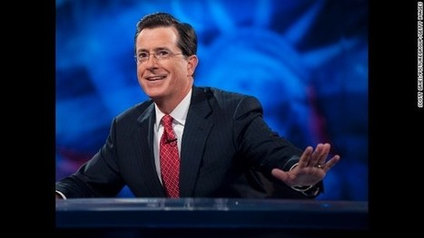 Colbert to succeed Letterman as host of 'The Late Show' | All that's new in Television and Film | Scoop.it