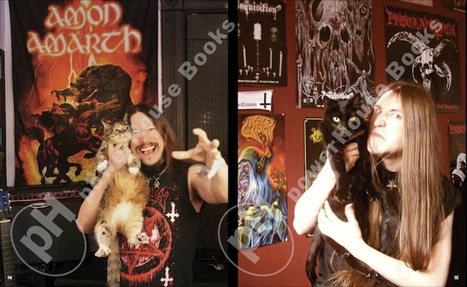 The Metal Cats Book Now Has A Release Date - Grim Metal Dudes, Posing With Cats! - Metal Injection | Black Metal | Scoop.it