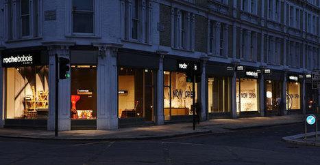 Roche bobois : nouveau point de vente londonien pour la marque de meubles | Decoration aménagements commerciaux et professionnels, cosa&faits | Scoop.it