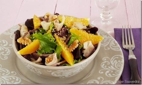 Ensalada de bacalao y naranja | Qué se #cocina en la red | Scoop.it