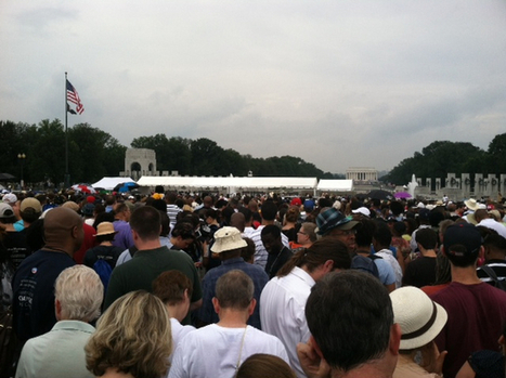 Long waits cause frustration at security checkpoint for March on Washington event - Washington Times | Security | Scoop.it