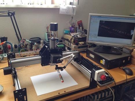 Pete's Blog: DIY Pick and Place Machine - Part 1   Heron   Scoop.it