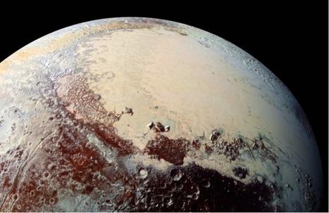 Pluton abriterait un profond océan d'eau liquide salée | C@fé des Sciences | Scoop.it