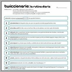 Twiccionario: La rutina diaria y los verbos reflexivos | Zambombazo | Verbos Reflexivos | Scoop.it