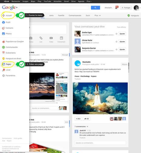 Comment créer une page Google+ pour votre entreprise | Scoop4learning | Scoop.it