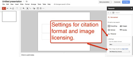 Quickly Find Images for Google Presentations | Time to Learn | Scoop.it