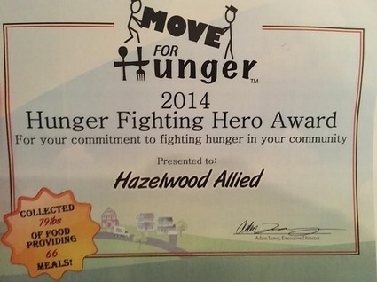 Move for Hunger Honors Santa Barbara Movers with Hunger Fighting Hero Award - Hazelwood Moving and Storage Santa Barbara | Home and Garden | Scoop.it