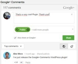 Google+ Comments for WordPress Plugin - GooPlusCircles | Guerilla Social Media Marketing | Scoop.it