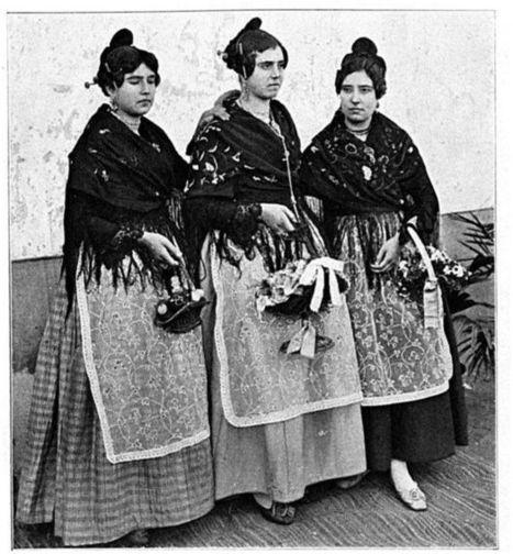 Femmes espagnoles début 1900 (valence) | GenealoNet | Scoop.it