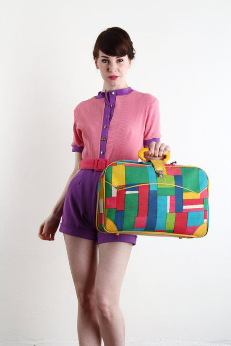 Vintage Suitcase | Kitsch | Scoop.it