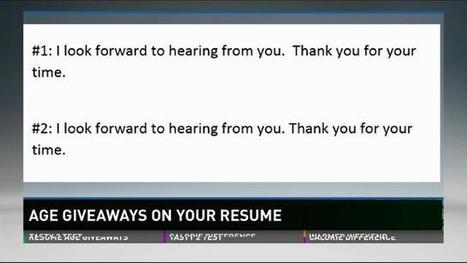 Is Your Resume Dating You? - WFMY News 2 | Career Transition | Scoop.it