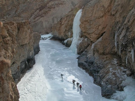 Chadar Trekking Tours Zanskar,Trekking in Chadar,Frozen River Trek, India | Trekking in Zanskar | Scoop.it