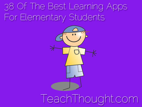 38 Of The Best Elementary Learning Apps For Students | Educational Technology TechDivaAshlee | Scoop.it