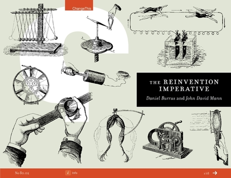 Invention v. Reinvention In The Age of Disruption | Designing design thinking driven operations | Scoop.it