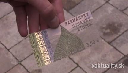 Na Slovensko prichádza nová stravenka. Platí len na domáce potraviny | Iná ekonomika | Scoop.it