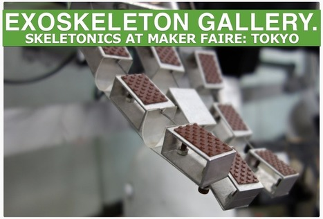 Team Skeletonics at Maker Faire: Tokyo 2013 (GALLERY) | AI, NBI, Robotics & Cybernetics & Android Stuff | Scoop.it