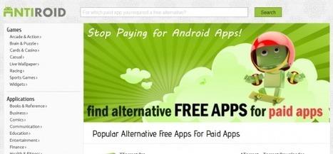 Trouver des alternatives gratuites aux applications Android payantes | Teaching Foreign Languages | Scoop.it