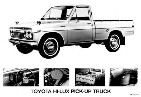 Điểm danh các thế hệ xe bán tải Toyota Hilux | máy khử độc rau quả ( máy khử độc ozone) | Scoop.it