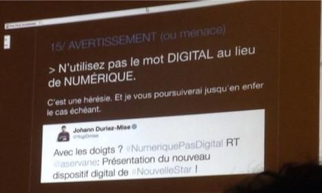 Faut-il dire numérique ou digital ? | Langue française,  présentation, médias | Scoop.it