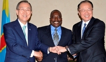 Paix et reconstruction en RDC - Congo: Ban Ki Moon - Kabila - Yong Kim en parfaite entente. | Congopositif | Scoop.it