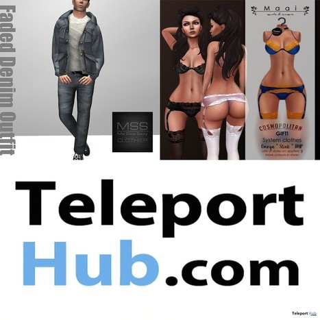 Round 1 April 2015 Group Gifts for Men and Women at Cosmopolitan Sale Room   Teleport Hub - Second Life Freebies   Second Life Freebies   Scoop.it