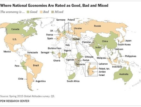 New Pew survey on global economic sentiment | SCUP Links | Scoop.it