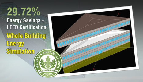Energy Savings + LEED Certification; Whole Building Energy Simulation | Solar Energy projects & Energy Efficiency | Scoop.it