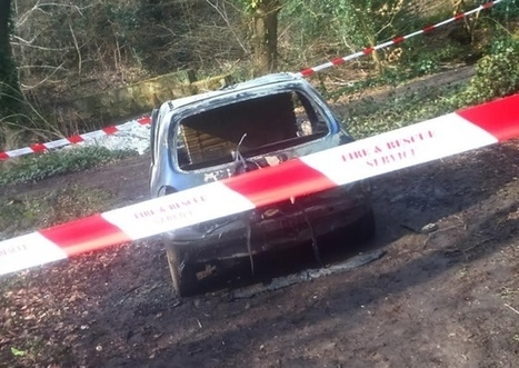 Car dumped and set alight in Sheffield woodland | Walkley News | Scoop.it