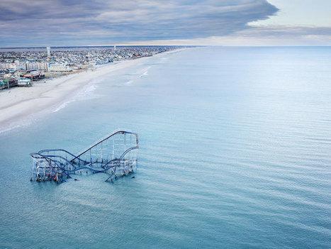 Roller Coaster Submerged in Atlantic Ocean. Casino Pier. Seaside Heights, New... | Rebrn.com | Modern Ruins | Scoop.it
