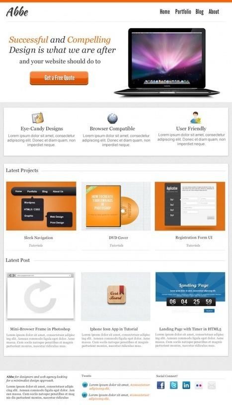 40+ Best Photoshop & Web Development Portfolio Tutorials | Tutorials | Scoop.it