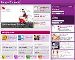 TV5MONDE : Langue Française - Jeux de lettres interactifs. Apprendre la langue française en jouant ! | Ressources FLE | Scoop.it
