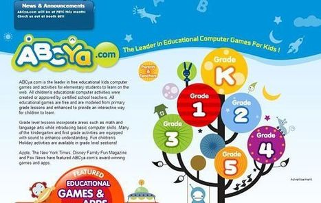 ABCya, un portal web lleno de juegos educativos para los más pequeños | ACTIVIDADES EDUCATIVAS | Scoop.it