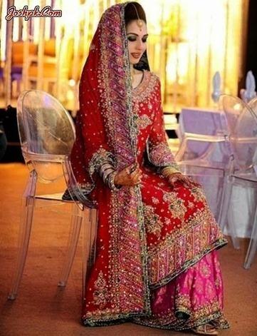 Pakistani Top Exclusive Bridal Wedding Dresses 2014 For Women   joshpk   Scoop.it